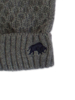 Raging Bull Cable Knit Gloves - Charcoal