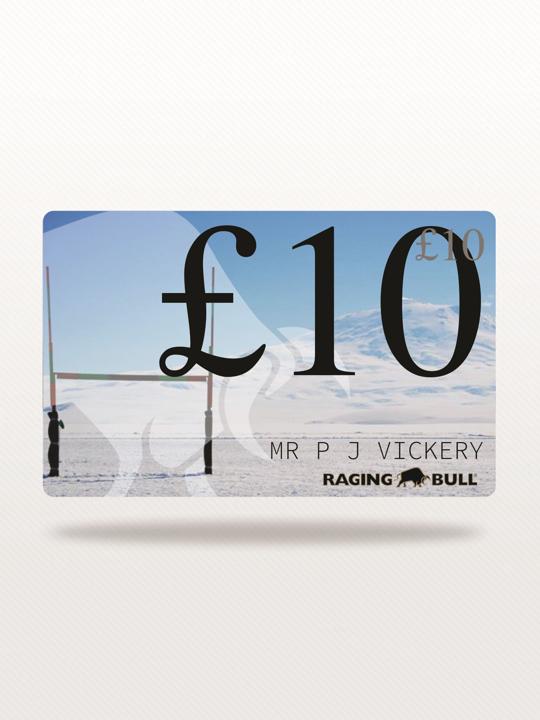 Raging Bull £10 e-Gift Card