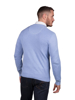 Raging Bull Big and Tall V-Neck Cotton/Cashmere Sweater - Sky Blue
