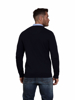 Raging Bull Big & Tall Crew Neck Cotton/Cashmere Knit - Navy