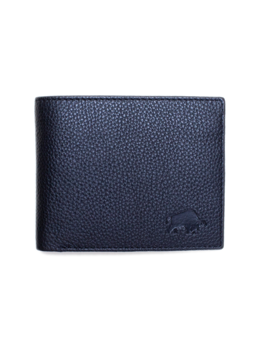 Raging Bull Leather Coin Wallet - Black