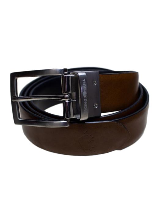 Raging Bull Reversible Belt - Brown/Black