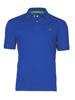 high quality cobalt blue polo shirt