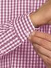 Raging Bull Big & Tall Long Sleeve Signature Gingham Shirt - Purple