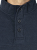 Raging Bull Signature Button Jersey Sweat - Navy