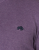 Raging Bull Big & Tall - V-Neck Cotton/Cashmere Knit - Purple