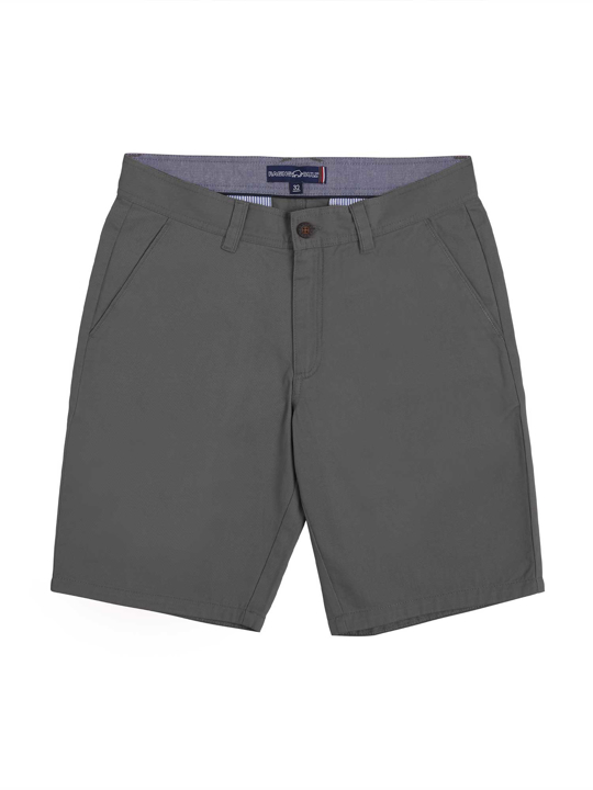 high quality grey chino shorts