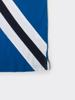 Raging Bull Diagonal Stripe Polo - Cobalt Blue