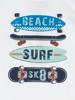 Raging Bull Surfboard Tee - White