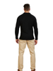 Raging Bull Chunky Rib Knit Cardigan - Black