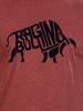 Raging Bull Big & Tall Flock Bull T-Shirt - Claret