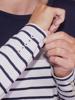Raging Bull Long Sleeve Jersey Stripe Top - White