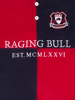 Raging Bull Long Sleeve Quartered Rugby - Navy/Red
