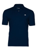 high quality navy polo shirt