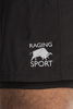 Raging Bull Performance 2 in 1 Shorts - Black