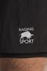 Raging Bull Big & Tall Performance 2 in 1 Short - Black