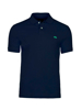 high quality slim fit navy polo