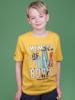Raging Bull Bored Member T-Shirt - Yellow