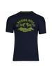 high quality graphic navy t-shirt