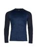 high quality long sleeve blue sport top