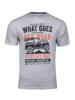 high quality grey graphic t-shirt