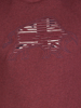 Raging Bull Slash Bull T-Shirt - Claret