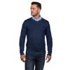 Raging Bull V-Neck Cotton Cashmere Sweater - Smart Denim