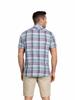 Raging Bull Big & Tall - Short Sleeve Slub Check Shirt - Navy