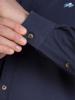 Raging Bull Long Sleeve Signature Oxford Shirt - Navy