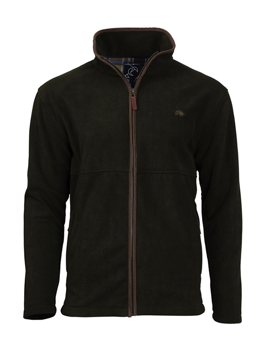 Raging Bull Fleece Zip Thru - Olive