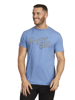 Raging Bull Denim RB Tee - Denim Blue