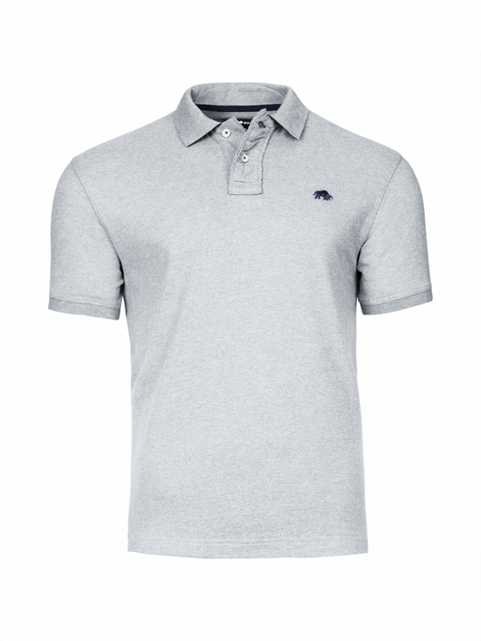 Raging Bull Signature Jersey Polo - Grey