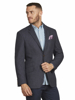 Raging Bull Herringbone Blazer - Grey