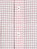 Raging Bull Short Sleeve Linen Look Gingham Shirt - Pink