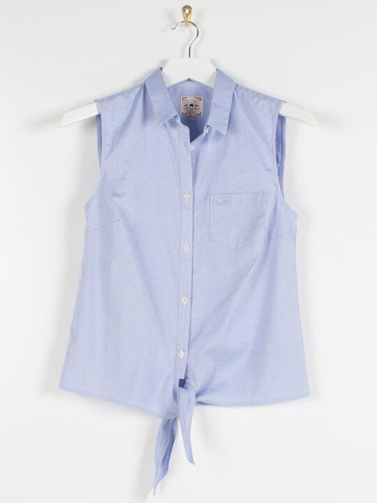Raging Bull Oxford Sleeveless Shirt - Chambray