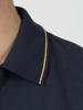 Raging Bull Diagonal Stripe Polo - Navy