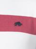 Raging Bull Big & Tall Irregular Stripe Polo - Vivid Pink