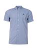 Raging Bull Short Sleeve Gingham Shirt - Navy