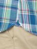 Raging Bull Short Sleeve Madras Check Shirt - Mint